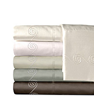 Veratex® Supreme Sateen 800-Thread Count Egyptian Cotton Swirl Sheet Sets