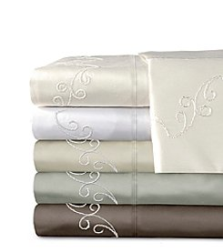 Veratex® Supreme Sateen 800-Thread Count Egyptian Cotton Scroll Sheet Sets