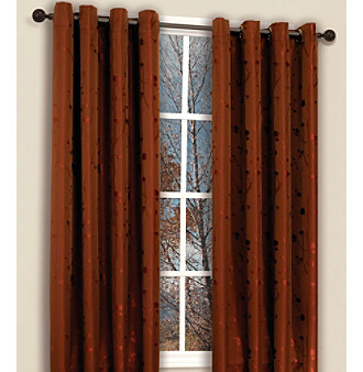 Shadow Brick Window Panel 2-pc. Set by Famous Home Fashions®