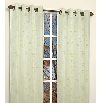 Shadow Willow Window Panel 2-pc. Set by Famous Home Fashions®