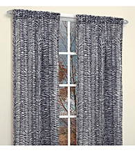 Zebra Window Panel 2-pc. Set by Famous Home Fashions®