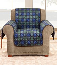 Sure Fit® Deluxe Quilted Microfiber Pet Chair Slipcover