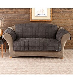 Sure Fit® Deluxe Quilted Microfiber Pet Loveseat & Sofa Slipcover