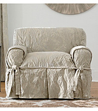 Sure Fit® Matelasse Damask 1-pc Chair Slipcover
