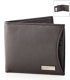 Calvin Klein Men's Brown Billfold Wallet