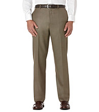 Savane® Men's Straight-Fit Sharkskin Dress Pant