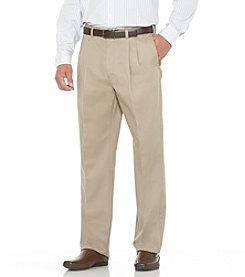 Savane® Men's Straight-Fit Pleated Performance Chino Pants