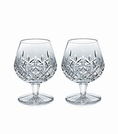 Waterford® Lismore Set of 2 Crystal Brandy Glasses