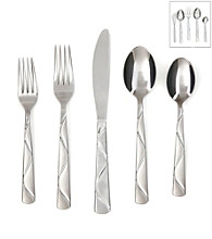 Cambridge Silversmiths Boa Sand 45-pc. Flatware Set