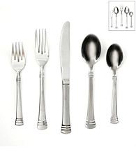 Cambridge Silversmiths Codie Sand 45-pc. Flatware Set