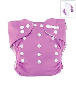 Trend Lab Lilac Cloth Diaper