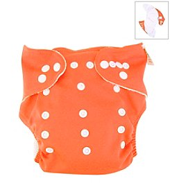 Trend Lab Orange Cloth Diaper