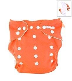 Trend Lab Orange Cloth Diaper