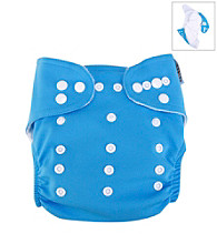 Trend Lab Turquoise Cloth Diaper