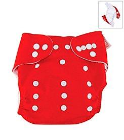 Trend Lab Red Cloth Diaper