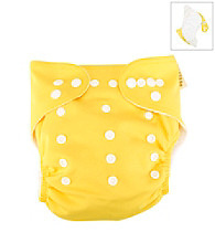 Trend Lab Yellow Cloth Diaper