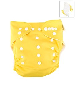 Trend Lab Yellow Cloth Diaper
