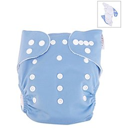 Trend Lab Blue Cloth Diaper