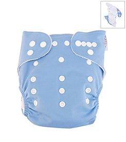 Trend Lab Blue Cloth Diaper