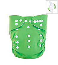 Trend Lab Green Cloth Diaper