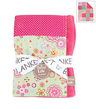 Trend Lab Sherbet Receiving Blanket