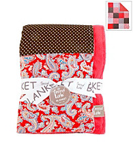 Trend Lab Chocolate Kiss Receiving Blanket