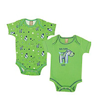 Trend Lab 0-3 Month Apple Berry Puppy 2 Pack Bodysuits