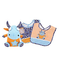Trend Lab Dreamsicle Monster Bib and Buddy Set