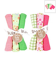 Trend Lab Sherbet 6 Piece Burp Cloth Set