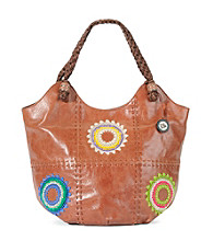The Sak® Indio Leather Starburst Large Tote