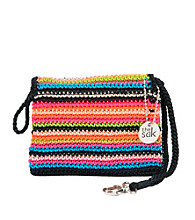 The Sak® Classic Crochet Double Zip Wristlet