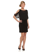 Jessica Howard® Black Blouson Dress