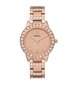 Fossil® Jesse Rose Stainless Steel Watch