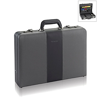 "SOLOSOLO® Black 16"" Laptop Attache"