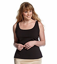 Relativity® Plus Size Basic Shelf Camisole