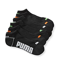 PUMA® Men's Black Low-Cut Sock 6-Pack