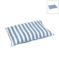 Happy Hounds Bosco Rectangular Blue & White Dog Bed