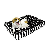 Happy Hounds Buster Rectangular Patterned Dog Bed