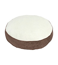 Happy Hounds Scout Deluxe Round Latte Dog Bed