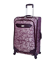 Jessica Simpson Signature Magenta Luggage Collection