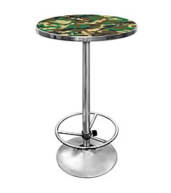 Trademark Global Hunt Camo Chrome Pub Table