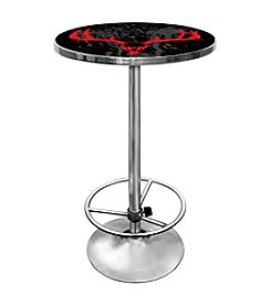 Trademark Global Hunt Skull Chrome Pub Table