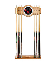 Trademark Global Hunt Skull Billiard Cue Rack with Mirror Inlay