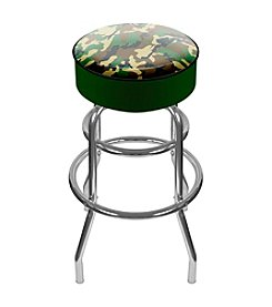 Trademark Global Hunting Camo Padded Swivel Bar Stool