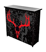 Trademark Global Hunt Skull Portable Bar with Case