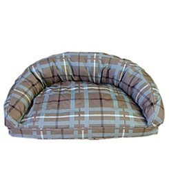 Carolina Pet Company Brutus Tough® Semi-Circle Lounge Pet Bed