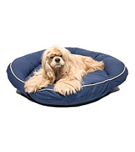 Carolina Pet Company Classic Cotton Canvas Bolster Pet Bed