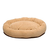 Carolina Pet Company Microfiber Bagel Pet Bed