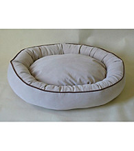 Carolina Pet Company Microfiber Oval Lounge Pet Bed