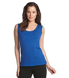 Laura Ashley® Scoopneck Shell Top